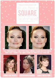 best hairstyle ideas for square face shapes haircuts and hair talk square face shape face shapes bardot bangs and squares