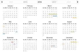 top 5 best jquery scheduler and events calendar for web