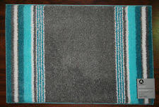 Aqua Bathroom Rugs 20x30 Bathroom Bath Rug Mat Washable Mats Rugs Grey Gray Blue Aqua