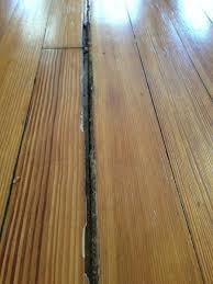 filling wood floor gaps meze