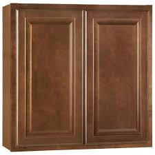 Medium Brown Kitchen Cabinets Kitchen The Home Depot - Medium brown kitchen cabinets