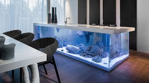 Cooking Islands For Kitchens Ocean Kitchen Aquarium Island Dudeiwantthat Com