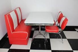 diner style booth table american diner furniture 50s style retro booth table white red booth