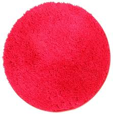 Round Plush Rugs Deco Lovers Bella U0027s Shaggy Round Rug Pink Shag Super Plush Thick