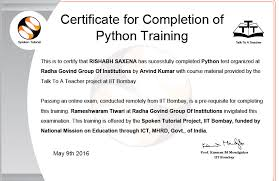 online tutorial of python python online test radha govind group of institutions meerut