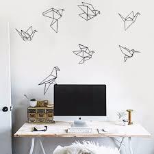 bird wallpaper home decor minimalist birds self adhesive diy wall decor wall decal wall