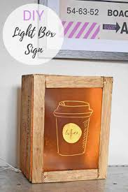 led light box ikea diy fun light box sign craft gossip