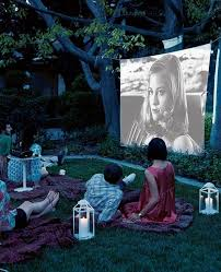 Backyard Outdoor Theater by Ideas Para Aprovechar Tu Patio Patios Ideas Para And Backyard