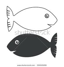 koi fish outline designs fish silhouette and outline