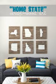 home wall decoration wood home state scrap wood make it and it