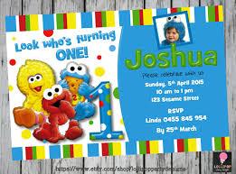 elmo online invitations birthday invites awesome sesame street 1st birthday invitations