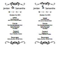 weekly menu templates free menu template free create edit fill and print