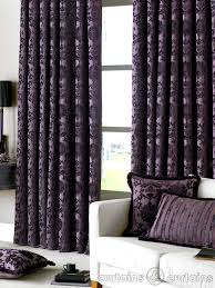 Grey And Purple Curtains Plum Coloured Curtains Uk Gopelling Net
