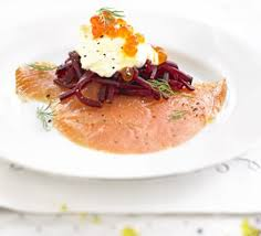 creme fraiche cuisine smoked salmon with horseradish crème fraîche beetroot recipe