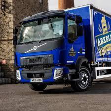 volvo truck fl brewery relies on 16 tonne gvw volvo fl 240 4 2 rigid bigwheels my