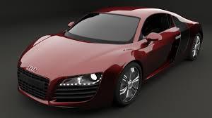 audi automobile models car 3d models fbx free 3d car fbx