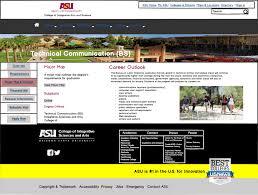 Major Map Asu Technical Communication Website Ux Design On Behance