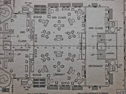 Titanic Floor Plan by 100 Titanic First Class Dining Room The Titanic Menus For