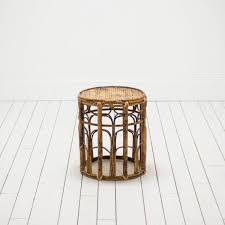 Rattan Table L Modern Rattan Stool Wicker Plant Stand Bohemian Table L Birch