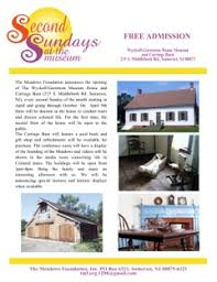 Barn Wyckoff Nj Upcoming Events At The Meadows The Meadows Foundation