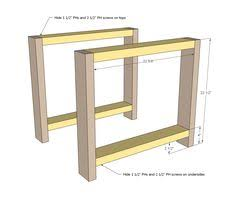 Plans For A Simple End Table by Ana White Build A Rustic X End Table Free And Easy Diy Project