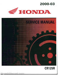 2000 2003 honda cr125 motorcycle service manual