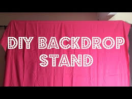 diy backdrop diy project backdrop stand 15