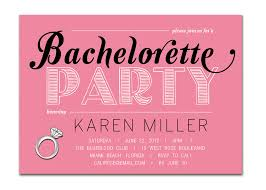 Invitation Cards Party Simple Bachelorette Party Invitation Card Ideas Catchy White