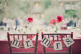 Mr And Mrs Wedding Signs Mr And Mrs Wedding Banner Wedding Chair Decor Or Photo