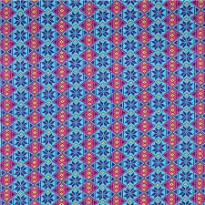 turquoise argyle pattern michael miller interlock fabric knit