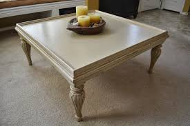 Large Square Coffee Table by B U0027s Refurnishings Large Square Coffee Table