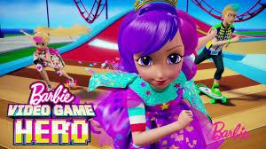 barbie video game hero movie trailer