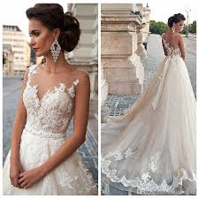 wedding dresses 200 discount european fashion sheer a line women wedding dresses