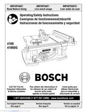 bosch safety table saw bosch 4100 10 inch worksite table saw manuals