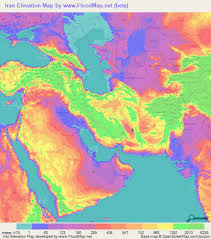 map or iran iran elevation and elevation maps of cities topographic map contour