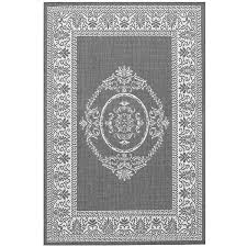 Yellow And Gray Outdoor Rug Antique Medallion Grey Outdoor Rugs Home Infatuation
