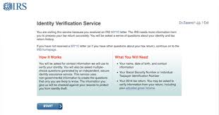 it u0027s not a scam irs is really sending out identity verification
