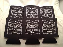 custom wedding koozies 2014 party favors custom wedding koozies lot of 50 personalized