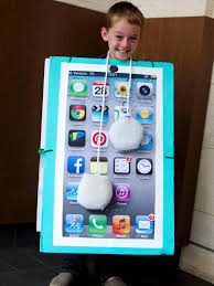 how to make a diy smartphone halloween costume for kids how tos