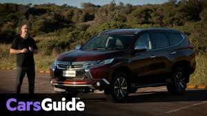 mitsubishi pajero sport gls 7 seat 2017 review carsguide