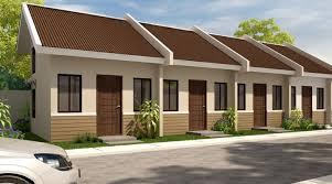 Row House Model - 1 storey rowhouse model cebu realty u0026 brokerage