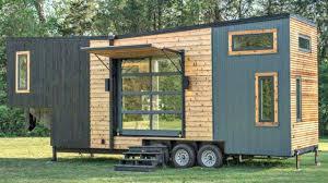 tiny home luxury stunning luxury tiny home w large roll up garage u0026 sliding glass