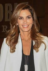 long layered haircuts over 40 cindy crawford long layered hairstyles for women over 40 l www