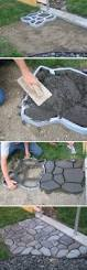 Cobblestone Ideas by The Best Way To Make Cobblestone Path Gardening N Diy
