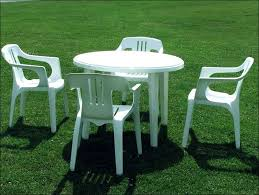 Plastic Table And Chairs Plastic Outdoor Table Gccourt House