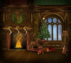 houses christmas dream photography amazing holiday violin horse