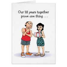 18th anniversary gift 18th wedding anniversary gift awesome happy 18th anniversary gifts