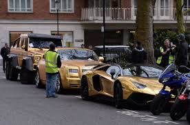 golden bentley a saudi who flew into uk with gold supercars walks away with