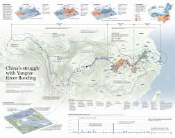 China River Map by China U0027s Struggle With Yangtze River Flooding This Week In Asia