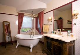 retro bathroom furniture to create a charming interior ideas for